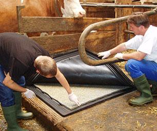 KEW Plus Matte für Liegeflächen im Kuhstall