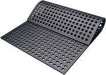 KRAIBURG CaBoMat Lochmatte aus Gummi für Kälberboxen