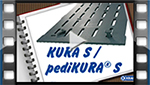 installation video for KRAIBURG KURA S slatted floor covering made of rubber in cattle houses