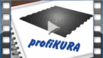 installation video for KRAIBURG profiKURA P walking alley flooring with abrasive surface made of rubber in the cattle houses
