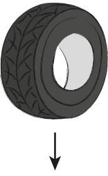 Der Reifen ist die Rohstoff-Quelle für den KRAIBURG Gummi