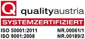 KRAIBURG ISO Zertifizierung Qualitäts- und Energiemanagement