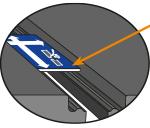 KRAIBURG WINGFLEX und KEW Plus bei Montage Mattenabstand mit Montagelehre einrichten