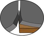 KRAIBURG Matten zum Schneiden Brett unterlegen und anritzen