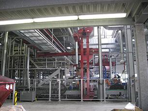 """KRAIBURG Stallmatten-Produktionsanlage """"Presse 16"""""""