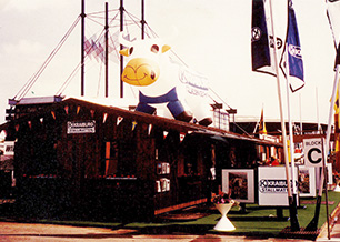 KRAIBURG Messestand an der DLG-Messe, 1984