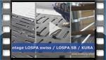 Montagevideo LOSPA - Spaltenbodenauflage aus Gummi für Mastbullen, Jungrinder und Kälbermast