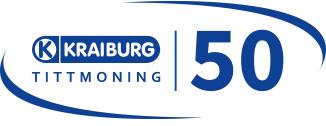 50 Jahre KRAIBURG in Tittmoning Logo