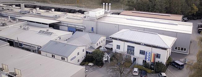 Gummiwerk KRAIBURG in Tittmoning - 50-jähriges Standortjubiläum in 2018