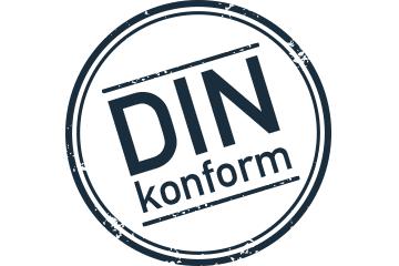 DIN-Norm Komfortmatte