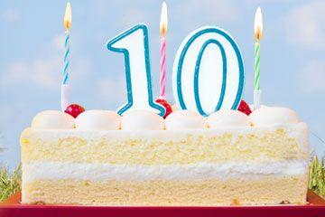 Geburtstag Produkte: seit 10 Jahren erfolgreich