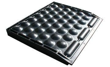 POLSTA Tiefboxenkissen aus Gummi für die Milchkuh