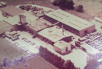 KRAIBURG Werksgelände in Tittmoning, 1982