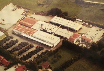 KRAIBURG Werksgelände in Tittmoning, 1992