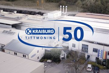 50 years KRAIBURG in Tittmoning
