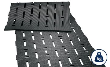 LOSPA swiss slatted floor covering made of rubber for cattle