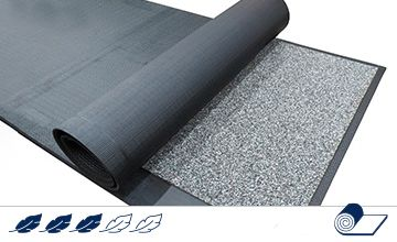 Soft Bed LongLine rubber covering (roll) for dairy cows´ cubicles