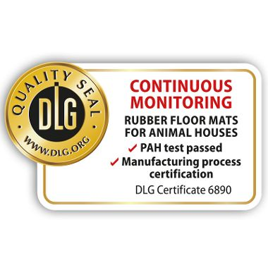 First DLG seal